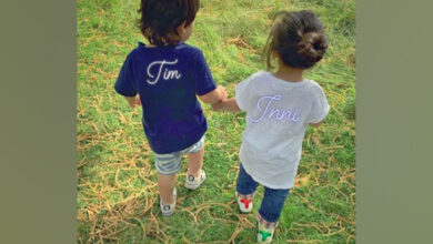 Photo of Taimur with cousin Inaaya spreading cuteness on the internet!