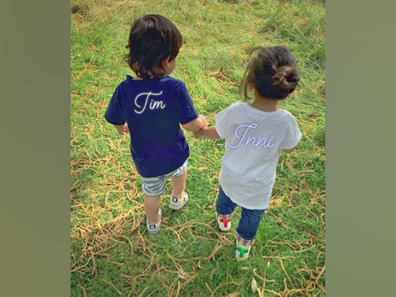 Taimur with cousin Inaaya spreading cuteness on the internet!