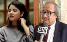 'What next Zaira? A burka or a niqab?': Tarek Fatah after 'Dangal' girl quits Bollywood