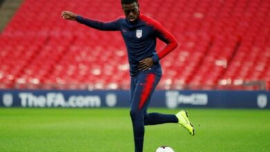 Photo of LOSC was best club for me: Timothy Weah
