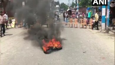 Photo of WB: Traders in Ghogomali protest against denial of permission for Rath Yatra