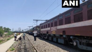Photo of Train carrying water from Jolarpet reaches Chennai