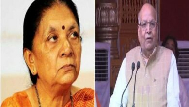 Photo of Anandiben appointed UP Governor, Lalji Tandon replaces her in MP