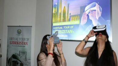 Photo of 'Virtual Tours to Uzbekistan' opened at Uzbek embassy in Delhi
