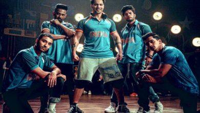 Photo of Varun Dhawan cheers for team India with his 'Street Dancer 3D' squad
