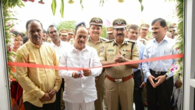 Photo of Mahmood Ali inaugurates Medipally police station, motor transport building for police and CCS