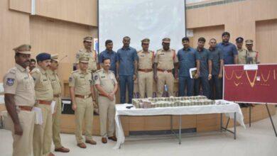 Photo of Shamshabad police arrest inter-state gang of highway robbers