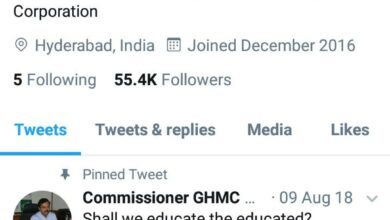 GHMC a rising star of twitter