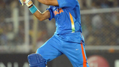 Photo of Yuvraj suffers from unusual dismissal in debut GT20 game