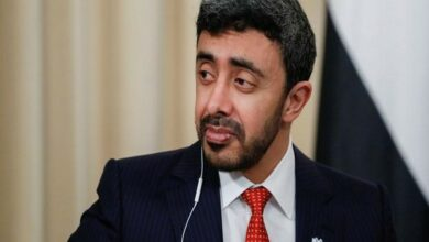 Photo of UAE Foreign Minister on 3-day India visit from July 7