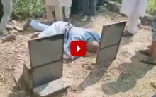Man acquitted after 23 years in jail, cries at parents' graves