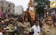 Bonalu procession in old city | Hyderabad