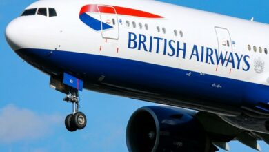 Photo of British Airways faces record PS183 million fine over data breach