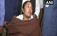 Forest officer Anitha discharged from Hyderabad hospital