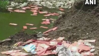 Photo of Rajasthan: Over 300 debit cards recovered from drain in Baran