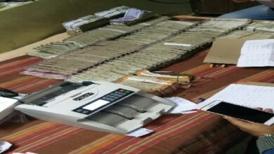 Photo of Cash, gold recovered from Tahsildar's house in Telangana