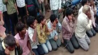 Photo of 16 people chained, forced to chant 'Gau Mata Ki Jai', video goes viral