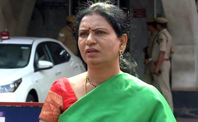 "Aruna dubs CM's statement as ""shameless"""
