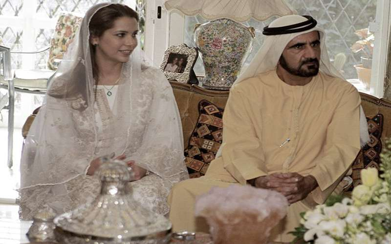 Princess Haya escapes to UK