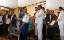 Doctors Felicitated by Health Minister on Doctor's Day
