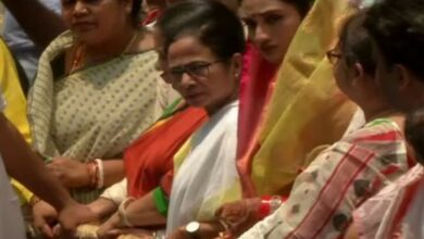 Photo of Mamta Banerjee flags off Jagannath Yatra