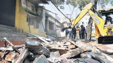 Photo of GHMC identifies 457 dilapidated buildings