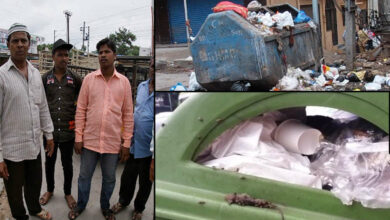 Photo of GHMC neglect garbage removal
