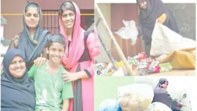 Photo of Meet burqa-clad woman who earns livelihood by collecting garbage