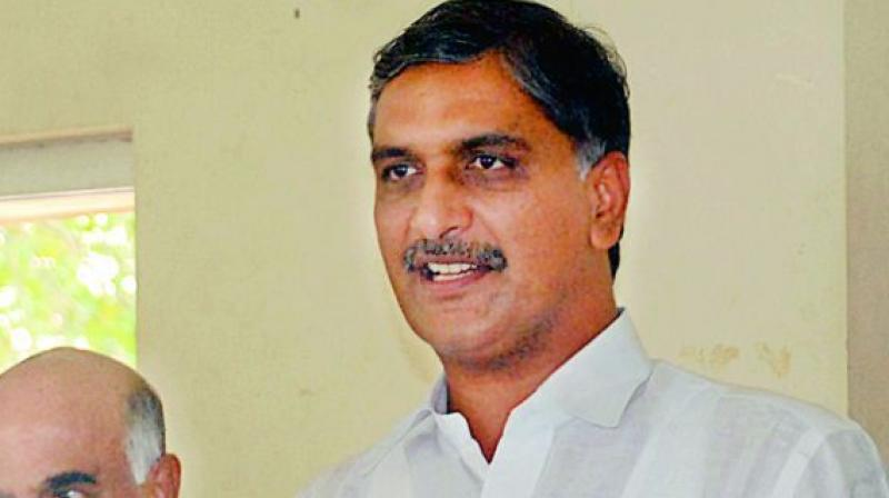 Harish slams Congress rulers for delay in projects