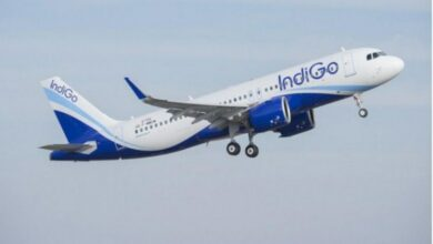 Photo of IndiGo flight makes emergency landing at Mumbai airport
