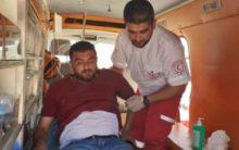 Dozens of Palestinians got injured by Israeli Soldiers
