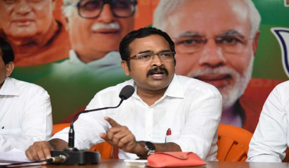 BJP hits out at CM KCR for his statement against Modi