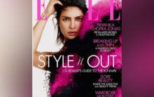 Priyanka Chopra looks vibrant on Elle magazine cover