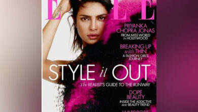 Photo of Priyanka Chopra looks vibrant on Elle magazine cover