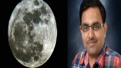 Photo of Moon plot owner sees his dream come true