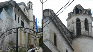 Photo of Heritage Building Aasman Mahal neglected by ASI & State Govt