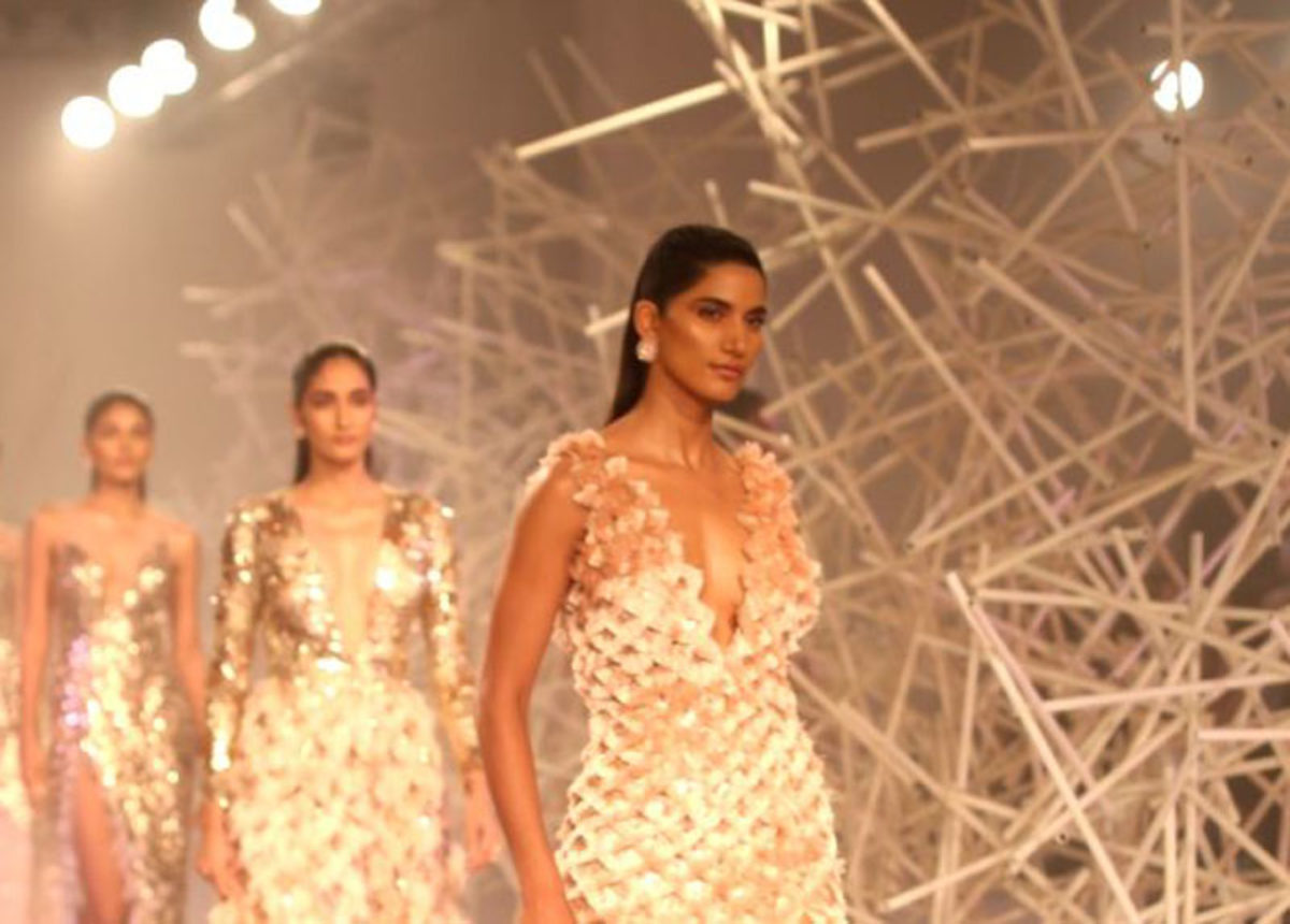 Designer Duo Pankaj Nidhi Debut At Icw 2019