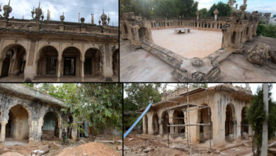Photo of Restoration of 150-year-old Paigah Tombs begins; focus is also on making landscape attractive