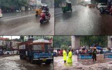 Heavy Rain Lashed Hyderabad on Tuesday