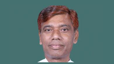 Photo of Lok Sabha member Ramchandra Paswan dead
