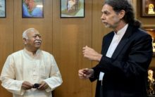 German envoy visit RSS HQ; Online petition calls his resignation