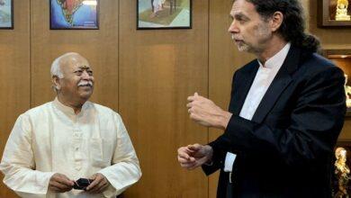 Photo of German envoy visit RSS HQ; Online petition calls his resignation