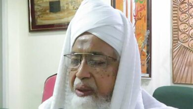 Photo of Mufti Sadiq Mohiuddin expressed his views on Urdu Examination