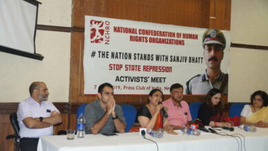 Photo of Voices from across the Nation demand the release of Sanjiv Bhatt