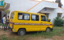 Karnataka: 4-year-old boy dies after school van runs over him