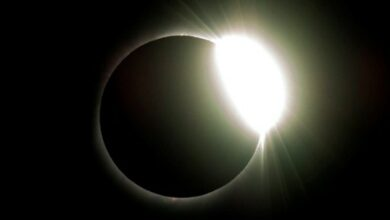 Photo of South Americans marvel at total solar eclipse