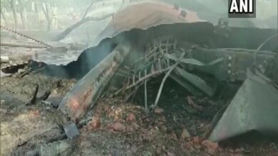 Photo of Fire breaks out in oil tanker on Lucknow-Faizabad road