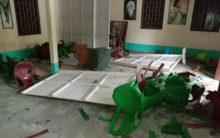 BJP supporters allegedly vandalise TMC office