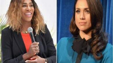 Photo of Serena Williams explains why she's refraining from giving Meghan Markle parenting advice