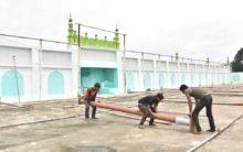 Preparation for Eid ul adha at Eidgah Mir Alam